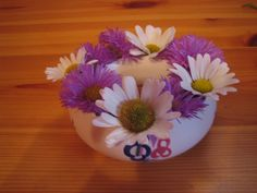 Vintage Poole Pottery Posy Bowl in Traditional Pattern by DeeGeeRetro on Etsy
