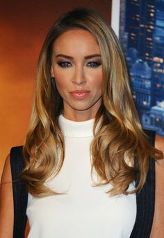 """Lauren Pope attends the UK premiere of """"Anchorman 2: The Legend Continues"""" at Vue West End on December 11, 2013 in London, England."""