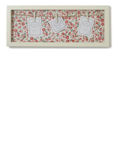 Vintage Floral Peg Photo Frame - photo frames - For The Home - BHS