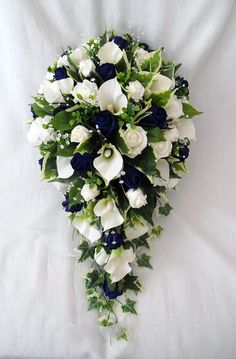 WEDDING FLOWERS - SPECIAL ORDER FOR BECKY - BOUQUET, POSIES, BUTTONHOLES