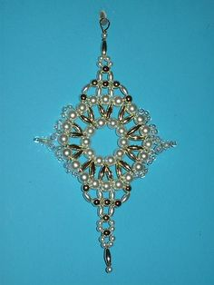 Surprising 1000 Images About Beaded Ornaments On Pinterest Beaded Easy Diy Christmas Decorations Tissureus