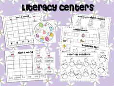 literacy center freebies