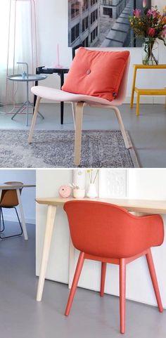 Via Emma-b.nl | Muuto Fiber Chair | Visu Lounge Chair | Cuubphoto