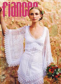 Revista FIANCÉE BODAS, portada junio 2014. Del enamoramiento al verdadero amor. Cómo mejorar tu convivencia con la pareja.