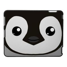 Emperor penguin Chick Ipad Case. So getting one of these when I get an ipad!   $44.95 via zazzle.com