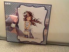 Made with Hobby House - Hopeful card kit.