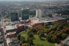 Poznan Poland, Centrum Sztuki i Biznesu Stary Browar, Poznań Financial Centre, Andersia Tower and Novotel Poznań Centrum [fot.Marek Kaczmarczyk]