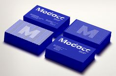 New Name, Logo, and Identity for Modacc by Toormix #grafica #fluo #pattern #corporate