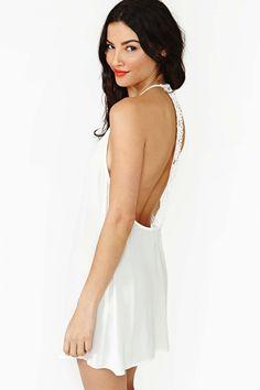 Field Daze Dress in White