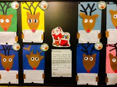 Santa is looking for one more reindeer to pull the sleigh. Why should he choose you?  Fun Christmas time first grade persuasive writing