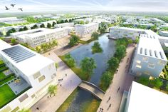 "KCAP & Kunst + Herbert Win Competition for ""Garden City of the 21st Century"" in Hamburg"