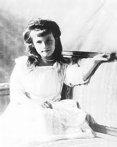 Anastasia Romanov. Pretty cool website for pictures of the children before they died.