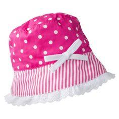 Circo® Infant Toddler Girls Polka Dot Bucket Hat