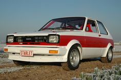 Toyota Starlet, Ae86, Rally, Cars, Autos, Car, Automobile, Trucks