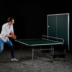 4fda15a1b Lancaster 4 Piece Official Size Indoor Folding Table Tennis Ping Pong Game  Table