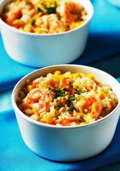 Lemony Risotto With Shrimp | 21 Surprising Things You Can Make In A Rice Cooker
