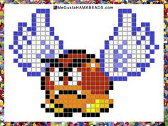 MeGustaHAMABEADS.com: Patrones Hama Beads Super Mario World parte 2