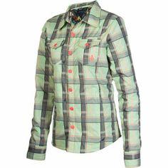 Volcom Cast Insulated Button-Down Shirt - Long-Sleeve - Women's