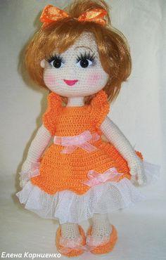 Ручная работа Куколка Тыковка - скидка 10% к 1 июня! ♡ lovely doll
