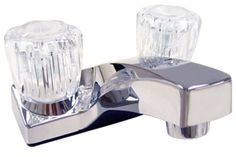 Empire® Ultra Chrome Two Handle Lavatory Faucet Mobile Home Parts, Best Faucet, Crafts Beautiful, Beautiful Homes, Rv Bathroom, Lavatory Faucet, Water Supply, Chrome Plating, Chrome Finish