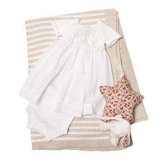 Zara white cotton dress