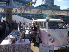 WV Camper & cake stall (from Harrogate!)