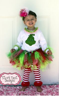 Cindy lou who halloween costume contest at costume works grinch inspired christmas grinch costumesbaby grinch costumediy whoville solutioingenieria Choice Image