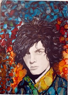 Syd Barrett by Raffaella Bertolini