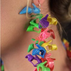 How cool is this. Barbie Shoe Jewelery!  Garden Party Doll Shoe Earrings©