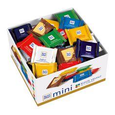 RITTER SPORT Mini Schokolade Bunte Vielfalt Vorratsbox