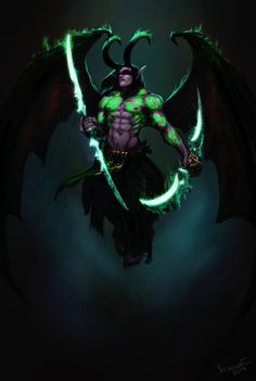 Illidan by Vovosunt