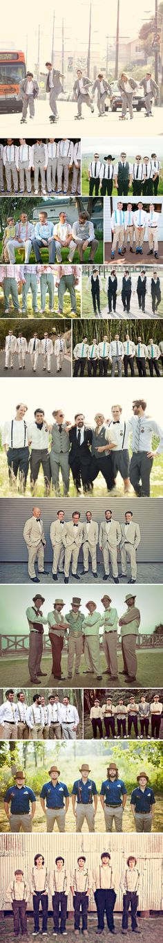 Praise Wedding » Wedding Inspiration and Planning » 68 Fashion Inspiration for Bridesmaids & Groomsmen