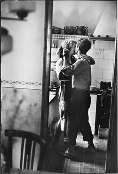 One of my favorite Elliot Erwitt images-- love that it's caught unaware.