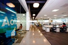 Aol's New Palo Alto Headquarters - Office office ideas design Interior Design Pictures, Office Interior Design, Office Interiors, Corporate Interiors, Corporate Design, Interior Inspiration, Office Themes, Office Ideas, Office Decorations