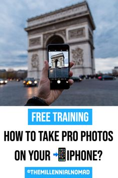 In this FREE training you will learn how to turn your photos from beginners to pro in a few simple steps. No need to break the bank to and invest in expensive camera gear. Everything can be done with your iPhone. #iphone #iphonephotography #photographyforbeginners #photographyforinstagram #instagram  #photographytips