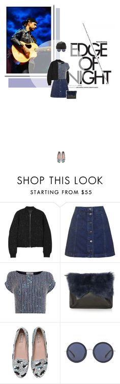 """""""// 790. Edge of Night."""" by lilymcenvy ❤ liked on Polyvore featuring rag & bone, Topshop, Coast, Chiara Ferragni, The Row, DRKSHDW, Celticthunder and keithharkin"""