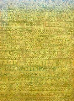 Paul Klee - Pastorale (Rhythms), 1927.
