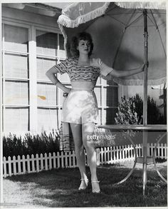 """An undated photo of the """"I Love Lucy"""" star at her home in the San Fernando Valley. I Love Lucy, Hollywood Photo, Old Hollywood, Hollywood Stars, Classic Hollywood, Image Ball, Jane Withers, Celebrity News, Celebrity Style"""