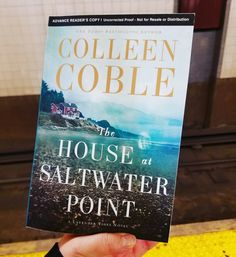 Book Review: The House at Saltwater Point by Colleen Coble. #book #bookreview #summerread