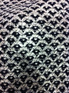 Tweedy stitch