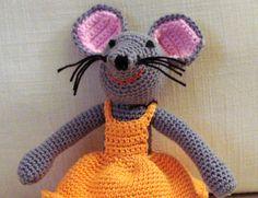 Tuto : Amigurumi petite souris (via A Little Mercerie)