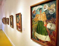 Casa De Frida Kahlo | Recorrido virtual por la Casa Azul de Frida Kahlo