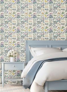 Designer Wallpaper Online Store for USA & Canada Meadow Garden, Garden S, Application Pattern, Wallpaper Online, Paper Texture, Designer Wallpaper, Apothecary, Murals, Townhouse