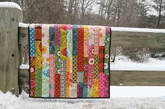 Scrappy quilt with Anna Maria Horner's Good Folks fabrics