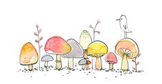 Like a wee village of mushrooms - so sweet.
