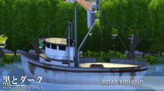Sims 4 CC's - The Best: Fishing Boat by Noiranddarksims