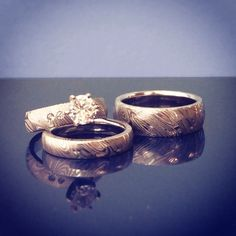 How Much Are Camo Wedding Rings 86 Simple Damascus wedding ring sets