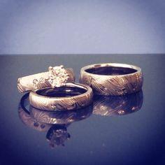 Harley Davidson Wedding Ring Sets 22 Cute Damascus wedding ring sets