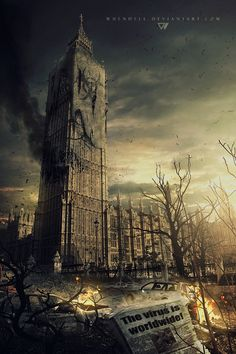 London - Infected by Whendell.deviantart.com on @deviantART