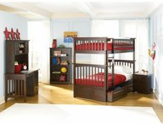 Columbia Twin over Twin Bunk Bed (more options)